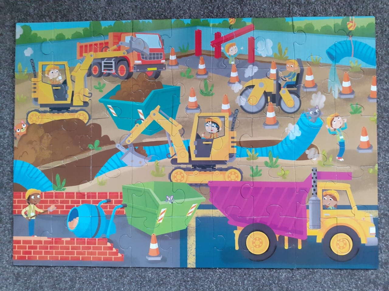Building Site Jigsaw Puzzle