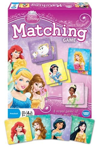 Matching Game - Disney Princess