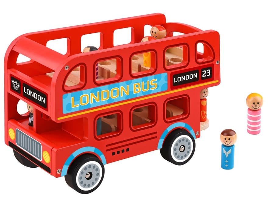 Tooky Toy London Bus