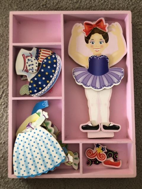 Magnetic Dress Up Set - Nina