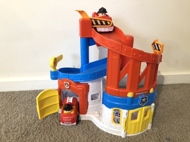Little People Fire & Police Rescue Station
