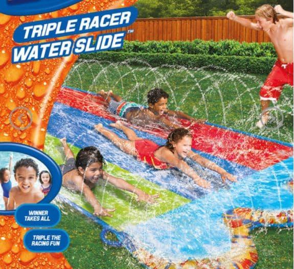 Triple Racer Water Slide photo